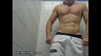 Locker Room Spy Muscular swimmer shower speedo foty Shorts Video onlyfans zakrogerz