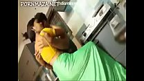 Desi Wife with BF in kitchen