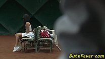 Cocksucking beauty ass banged after tennis image
