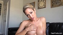 Capri Cavanni plays with her big dildo