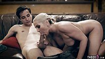Young stepson made a move on his lonely MILF stepmom