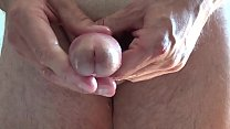 Amateursex handjob with oil and  big cum. Paja con gran corrida