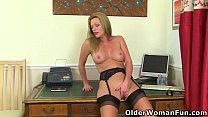 British milf Holly Kiss will be your hot secret...