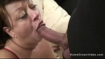 Busty amateur BBW will do anything for a big cock