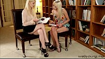 Hot blonde teens Sierra Nevada and Charlotte St...