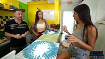 Juice Bar Visit Of This Petite Teen Leads To Sex For Money