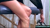 Horny Sexy Lesbians (janice&monique) In Hard Punish Sex Tape video-15 Thumbnail