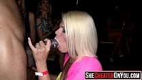 30 Horny sluts swallow cum at cfnm party15's Thumb