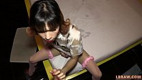 Ladyboy Belle Barebacked and Creampied