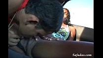 [saxcy bf] brazilian amateur couple having great sex in the car thumbnail