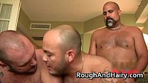 Great gay threesome scene with a lot gay porno