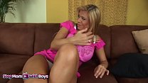Stepmom With Boys Horny Stepson Insists Of Havi...