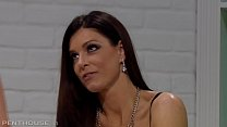 Foxy Milf India Summer seduces and Fucks lesbia...
