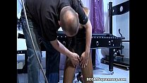 Sexy brunette bitch gets to be bonded