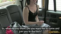 A fake taxi fan babe gets fucked hard by the dr...