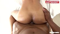 LETSDOEIT - Ebony Latina Maid Rides a BBC at Work صورة