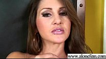 Alone Hot Girl Taped Playing With Sex Toys movie-29