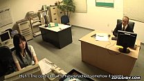 19528 Asian slut getting fucked on the office table preview