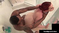 Red BBW Amerie Gets Her Big Pussy Pounded By BB...