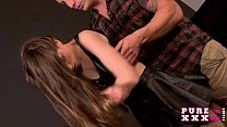 PURE XXX FILMS Tina is the squirting magician's Thumb