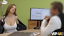 VIP4K. Agent drills juicy young pussy because girl needs money thumbnail