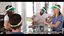 Poker Night Teen Daughter Swapping - DaughterSw... Thumbnail