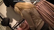 Hot and sexy couple fucking heavily in the public restroom Vorschaubild