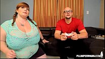 BBW Gamer Lexxxi Luxe Gets Her Pussy and Mouth Controlled thumbnail