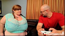 BBW Gamer Lexxxi Luxe Gets Her Pussy and Mouth Controlled