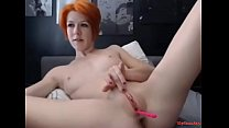 Redhead with a shaved pussy - vipcam.top