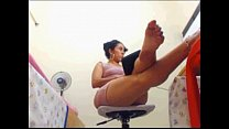 Latina Feet and Fat Ass Free Webcam Porn BabyCamGirls.com