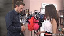 Dillion Shows Client How To Use Vibrator