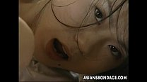 xxx beastiality ⁃ Busty Japanese gal gets bound and screwed hard thumbnail