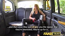 Fake Taxi Training the new female taxi driver i...