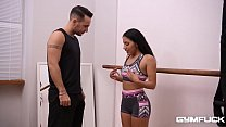 Gym fuck & doggy bangarang makes Milf Liv Revamped climax multiple times