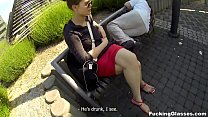 Fucking Glasses - Outdoor fuck Lota in spycam g...