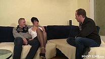 Video sex stockings german anal film
