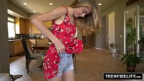 TEENFIDELITY 18 Year Old Hannah Hays Creampied thumbnail