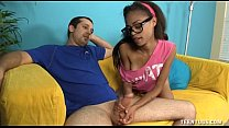Hot Teen Jerks Off Her Step-Brother thumbnail