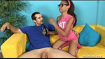 19042 Hot Teen Jerks Off Her Step-Brother preview