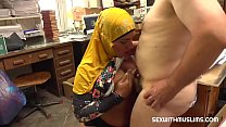 7500 Bookstore owner fucks a happy muslim milf preview
