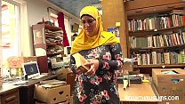 Bookstore owner fucks a happy muslim milf pornhub video