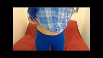 19361 arab Blue pant Teen - More Videos On - Boobspressing preview