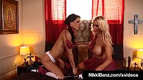 School Nuns Nikki Benz & Jessica Jaymes Bang a Damn Priest!