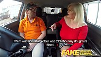9382 Fake Driving School Busty mature MILF sucks and fucks lucky instructor preview