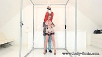 Lady Sonia handcuffed and teased with a vibrator Image