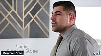Hunks (Damien Stone, Julian Knowles) Fast Fucked At The Office - Men.com