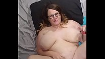 Bbw huge tit wife fucked and cum on face, tits ... thumb