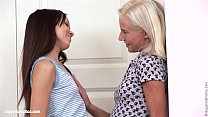 Nichol and Irene lesbian fingering on Sapphic Erotica