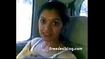 14188 Cute Desi Bhabhi Show Milky Boobs In Car With Lover preview
